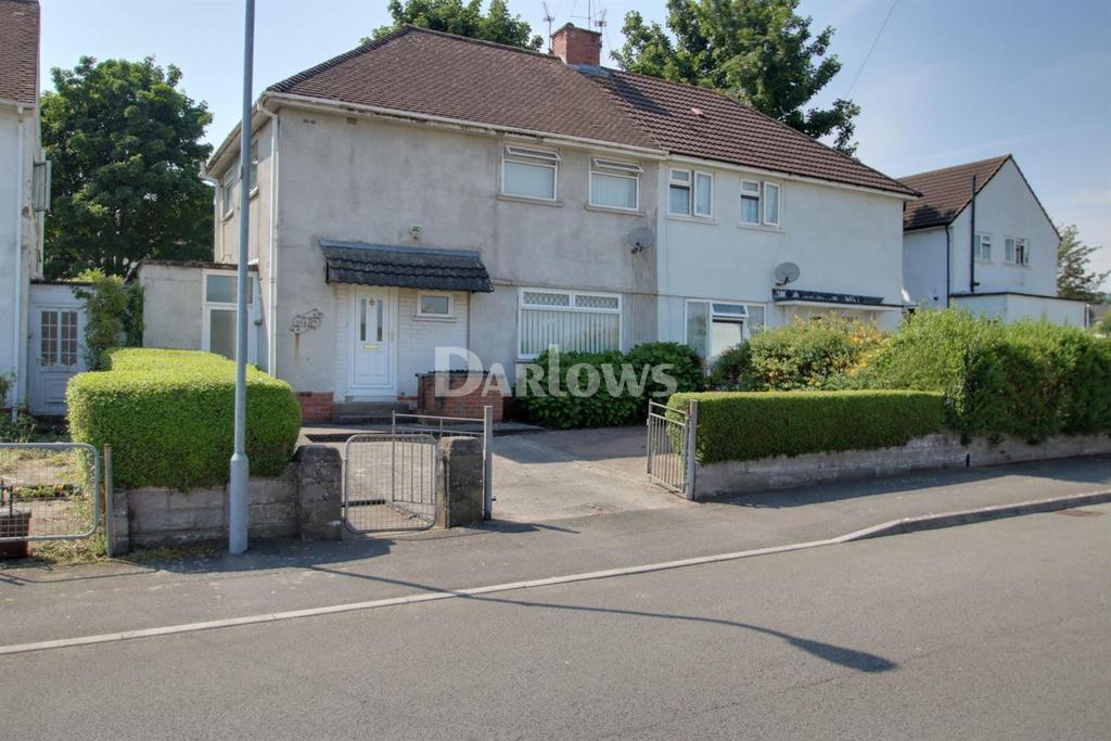 3 Bedrooms Semi Detached House for sale in Harlech Road, Rumney, Cardiff