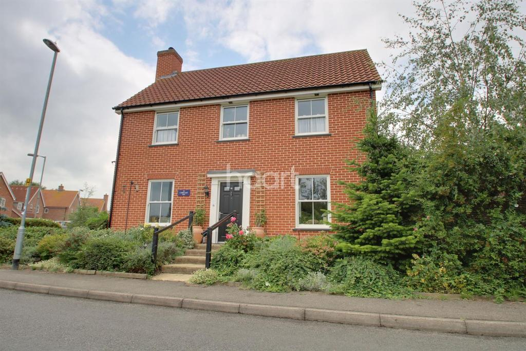4 Bedrooms Detached House for sale in Cyprian Rust Way, Soham