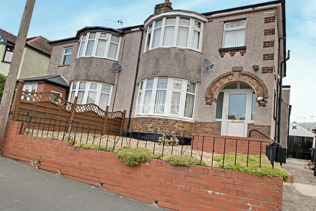 3 Bedrooms Semi Detached House for sale in Beechcroft Road, Beechwood, Newport