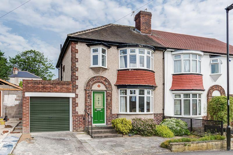 3 Bedrooms Semi Detached House for sale in Cardoness Road, Crosspool, Sheffield