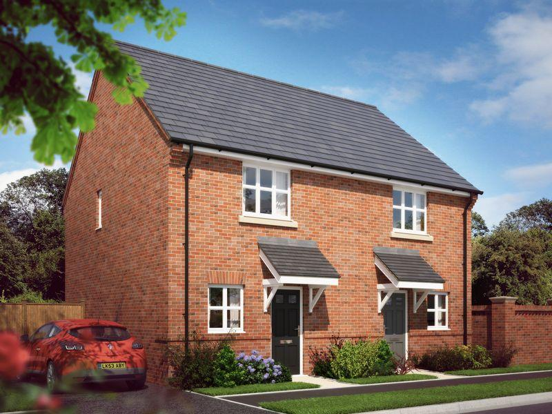 2 Bedrooms Semi Detached House for sale in THE HIGHAM, LANGLEY COUNTRY PARK, DERBY