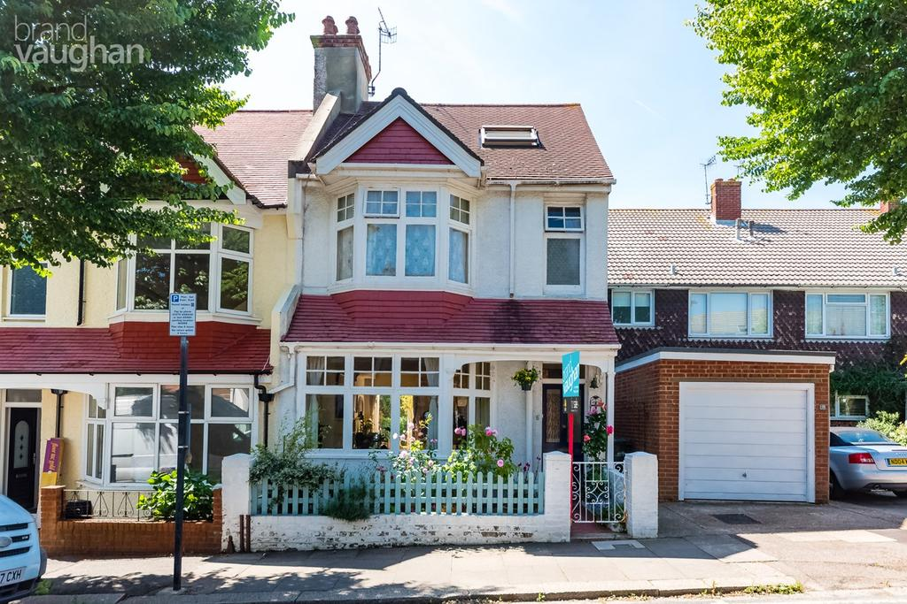5 Bedrooms End Of Terrace House for sale in Avondale Road, Hove, BN3