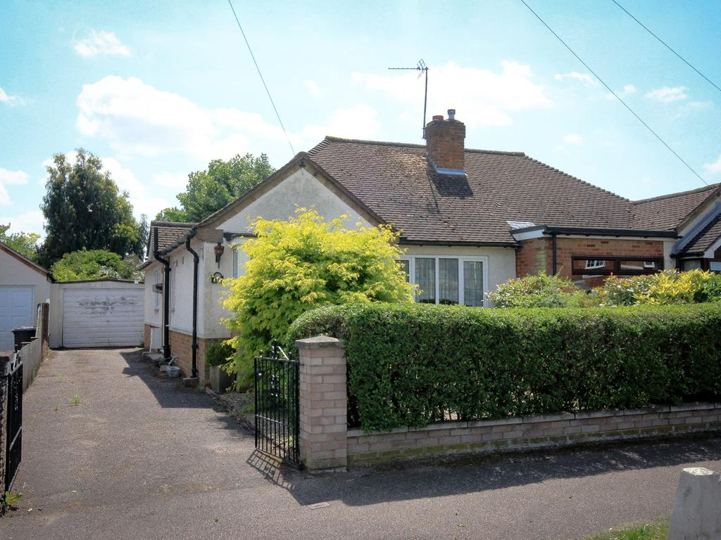 2 Bedrooms Semi Detached Bungalow for sale in Station Road, Flitwick, MK45