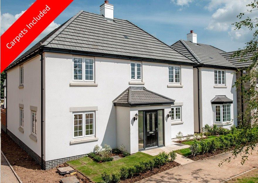 4 Bedrooms Detached House for sale in Otters Brook, Cannington, Bridgwater, Somerset