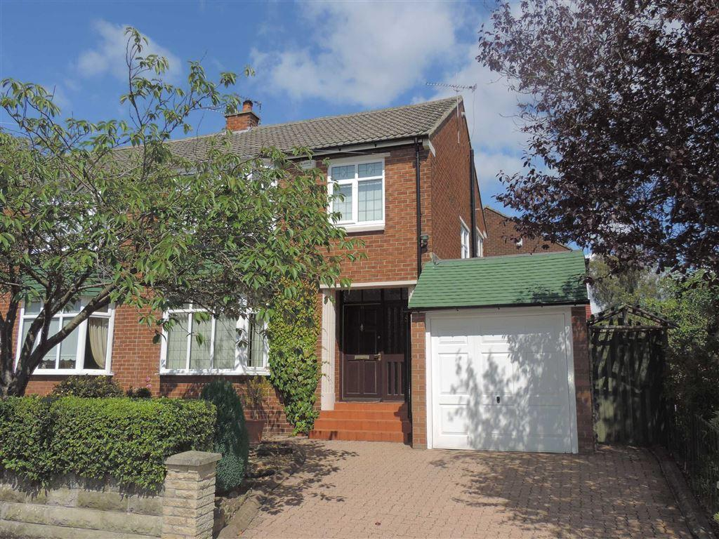 3 Bedrooms Semi Detached House for sale in Ashfield Road, Whickham, Newcastle Upon Tyne