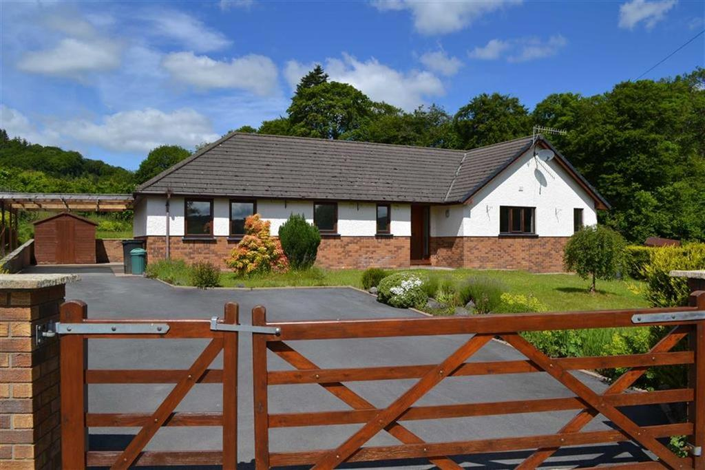 3 Bedrooms Detached Bungalow for sale in Brenin, Felindre, Llanidloes, Powys, SY18