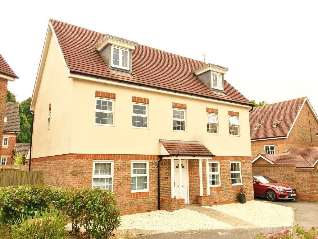 5 Bedrooms Detached House for sale in Mescott Meadows, Hedge End SO30