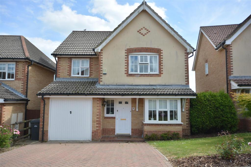 4 Bedrooms Detached House for sale in Ticehurst Close, Hastings