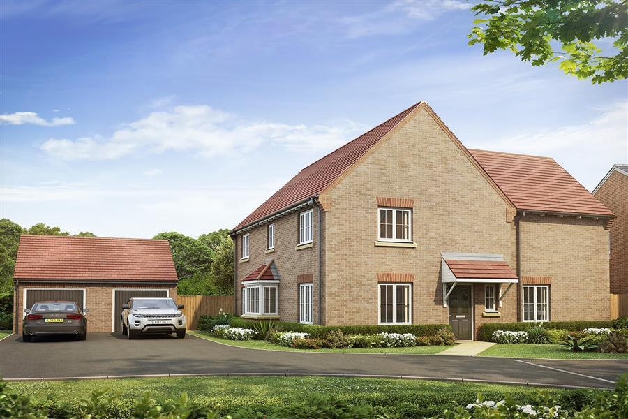 4 Bedrooms Detached House for sale in Plot 174 The Barley, Sutton Grange, Shrewsbury