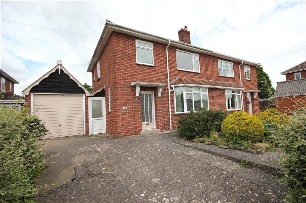 3 Bedrooms Semi Detached House for sale in Quarry Road, Hereford, HR1