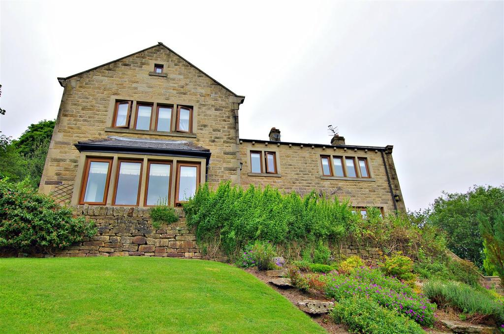 5 Bedrooms Detached House for sale in Kebroyd Mount, Sowerby Bridge