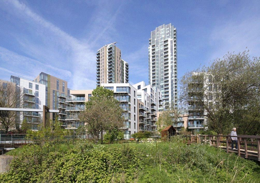 2 Bedrooms Flat for sale in Woodberry Down, London, N4