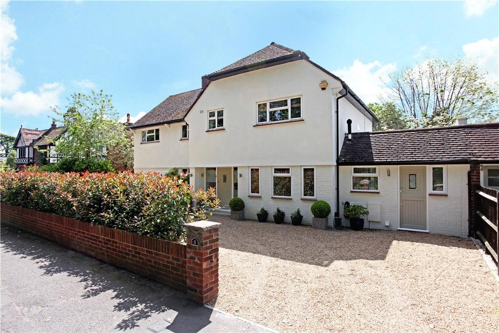 5 Bedrooms Detached House for sale in Northcroft Road, Englefield Green, Egham, Surrey, TW20