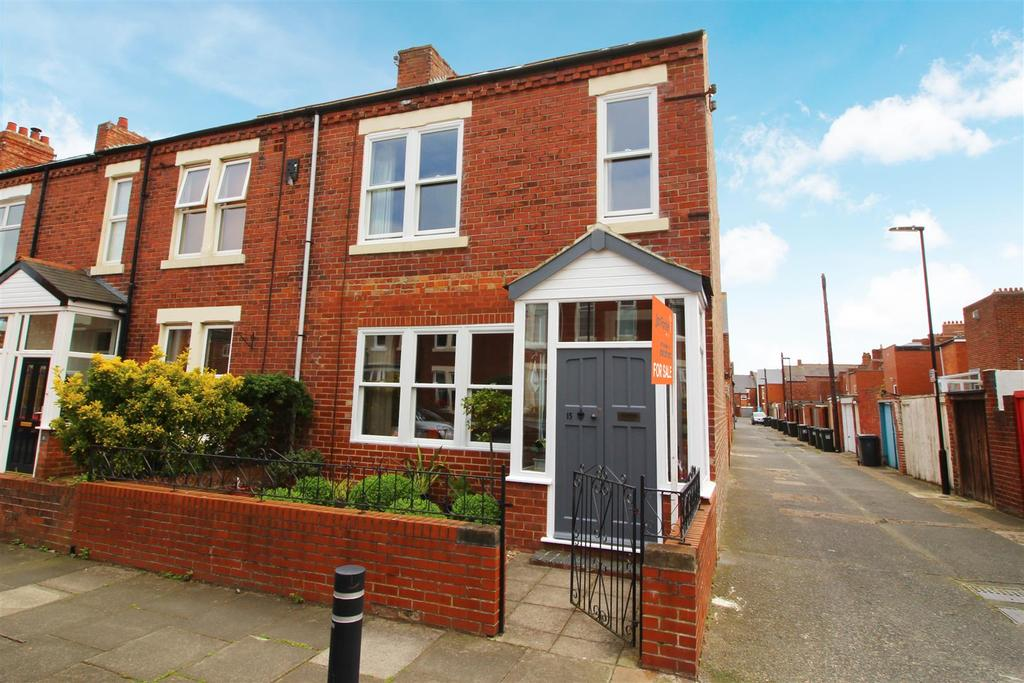 3 Bedrooms End Of Terrace House for sale in Shipley Road, Tynemouth