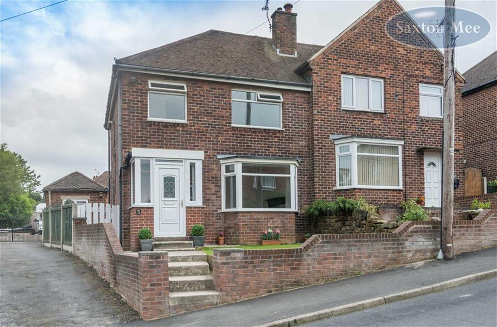 3 Bedrooms Semi Detached House for sale in Grove Road, Deepcar, Sheffield, S36