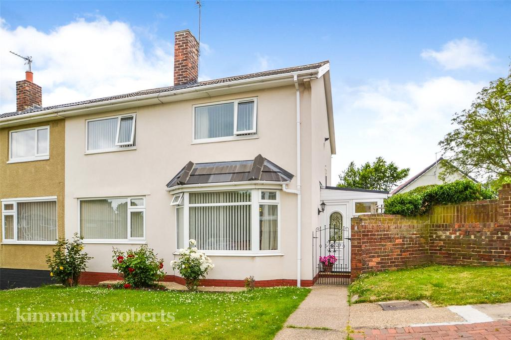 3 Bedrooms Semi Detached House for sale in Wilson Place, Peterlee, Co.Durham, SR8