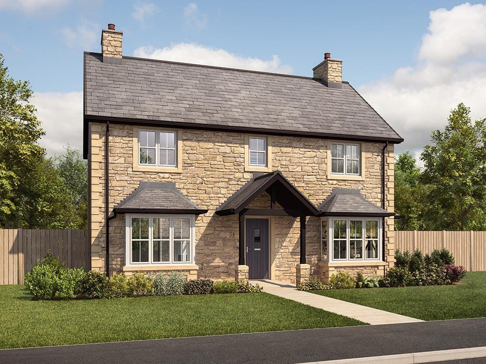 4 Bedrooms Detached House for sale in Dove Park, Rake Lane, North Shields