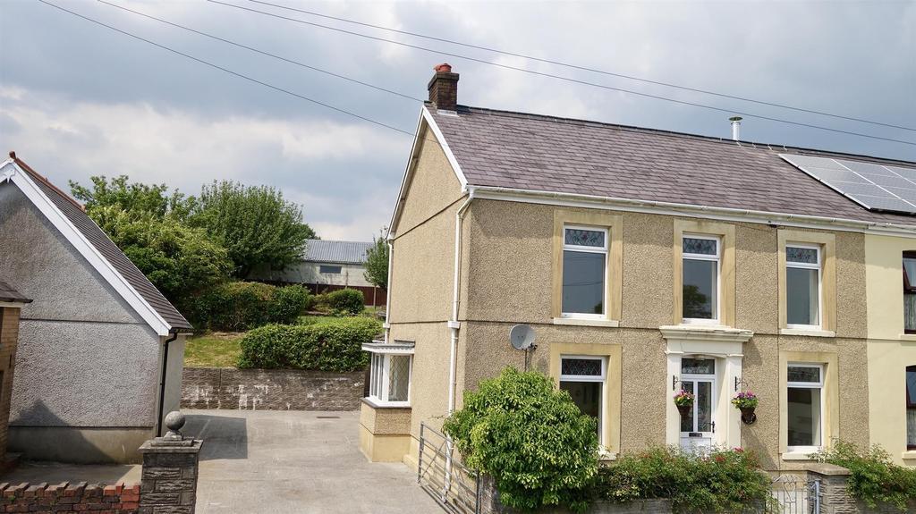 3 Bedrooms Semi Detached House for sale in Waterloo Terrace, Ammanford