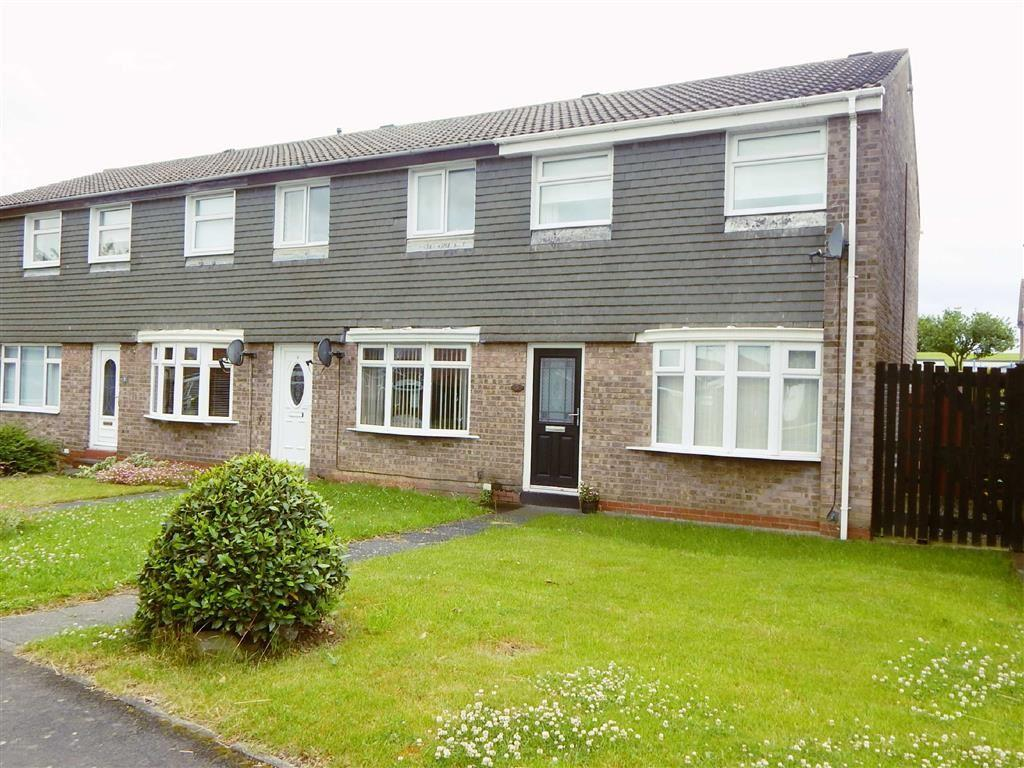 3 Bedrooms Terraced House for sale in Airedale, Hadrian Lodge, Wallsend, NE28
