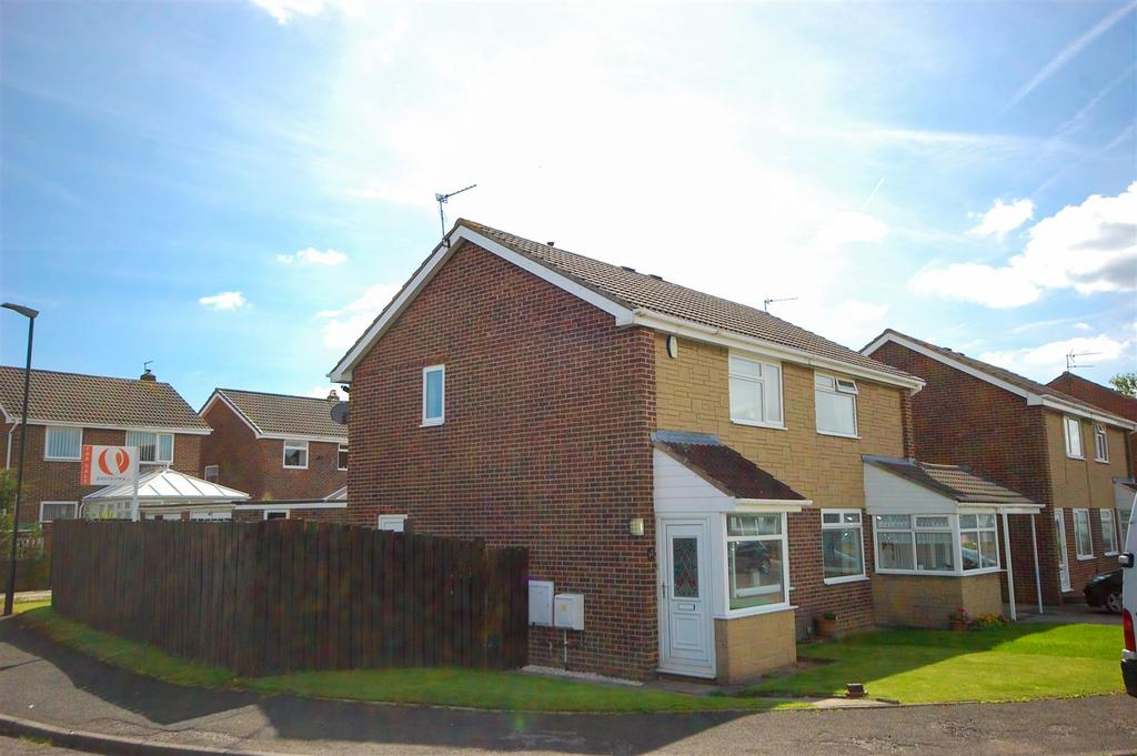 2 Bedrooms Semi Detached House for sale in Houlsyke Close, Tunstall, Sunderland