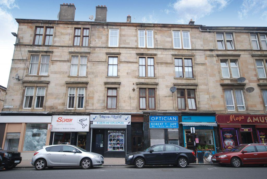 2 Bedrooms Flat for sale in 2/1, 456 Victoria Road, Queens Park, Glasgow, G42 8YU