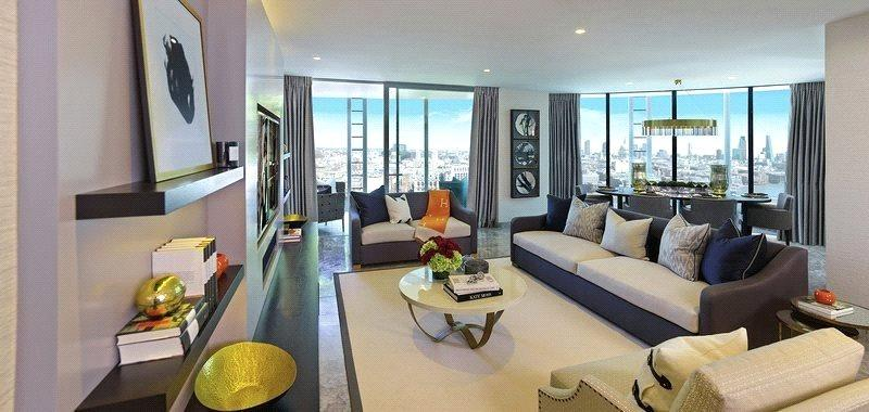 2 Bedrooms Flat for sale in One Blackfriars, London, SE1