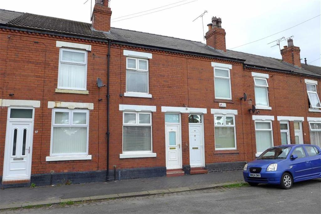 2 Bedrooms Terraced House for sale in Walker Street, Crewe