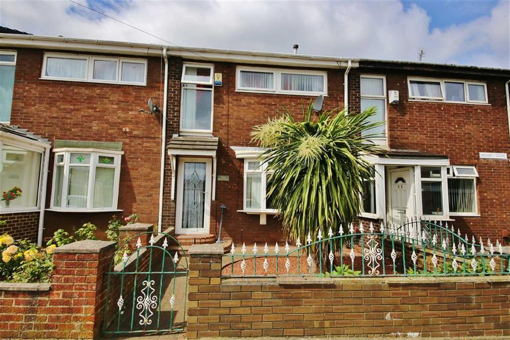 3 Bedrooms Terraced House for sale in Wilber Court, Millfield, Sunderland, SR4