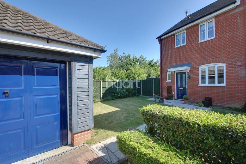 3 Bedrooms End Of Terrace House for sale in Skylark Close, Bury St Edmunds