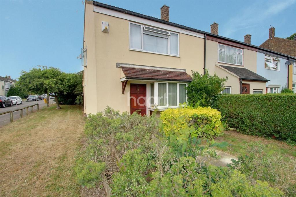 2 Bedrooms End Of Terrace House for sale in Hornbeams, Harlow