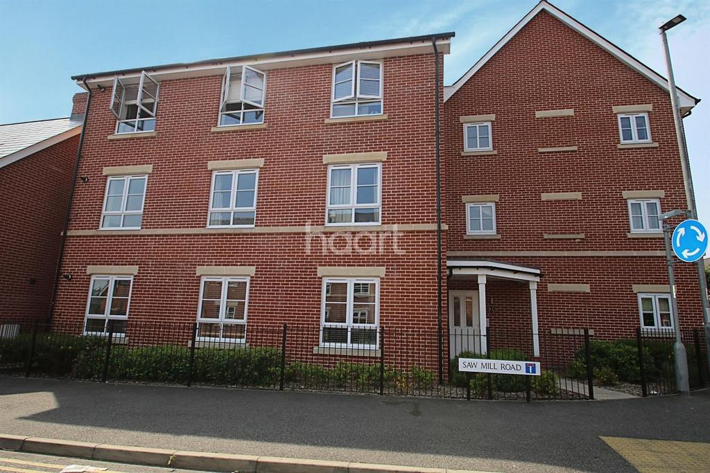 2 Bedrooms Flat for sale in Saw Mill Road