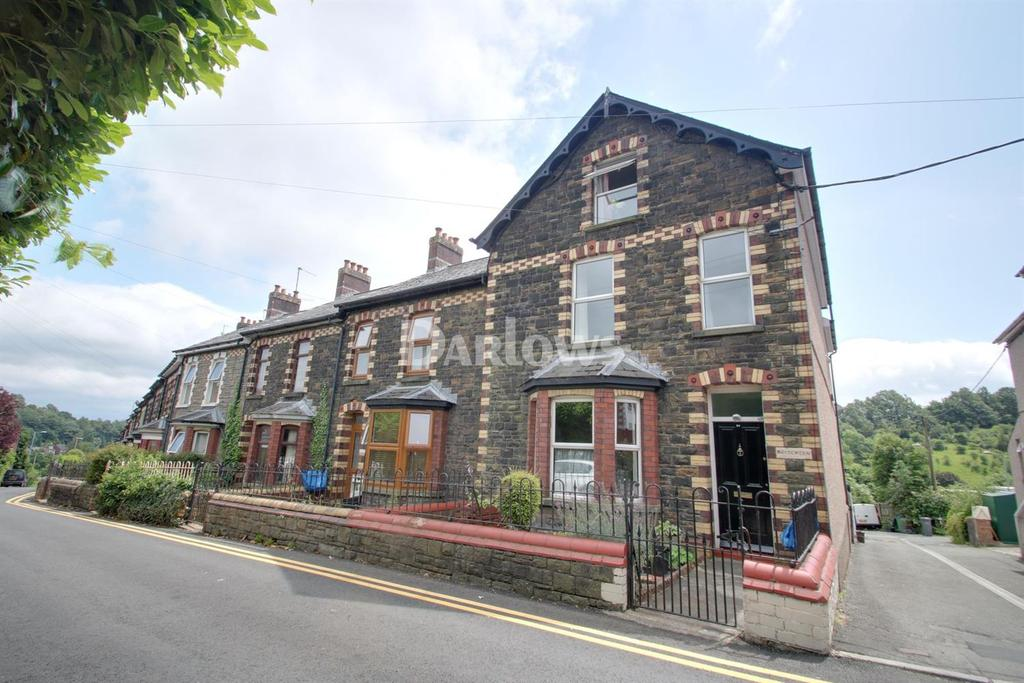5 Bedrooms End Of Terrace House for sale in Victoria Road, Cwmfields