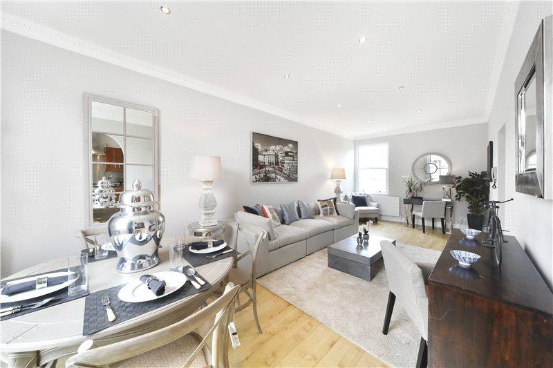 3 Bedrooms Flat for sale in Batoum Gardens, Brook Green, London, W6