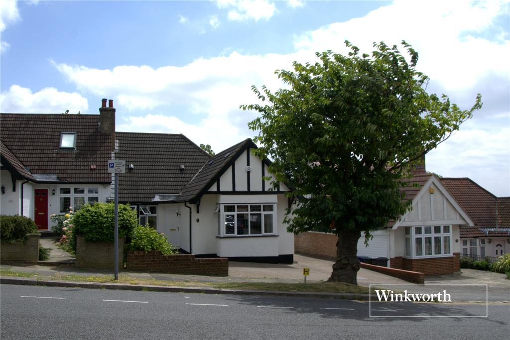4 Bedrooms Semi Detached Bungalow for sale in Normandy Avenue, High Barnet, Herts, EN5