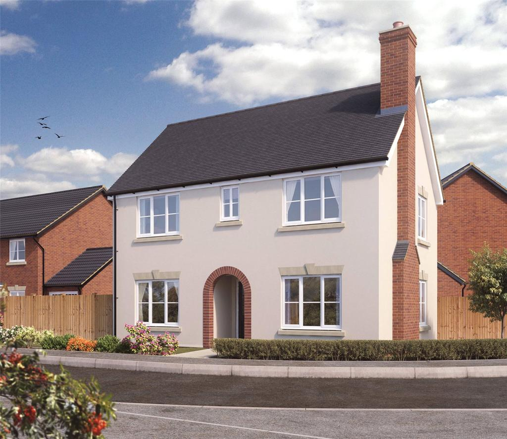 3 Bedrooms Detached House for sale in Plot 43 Firs Park, Eversley Road, Norwich, NR6