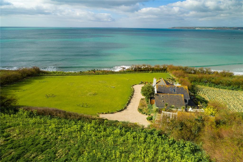 4 Bedrooms Detached House for sale in Perranuthnoe, Near Marazion, West Cornwall, TR20