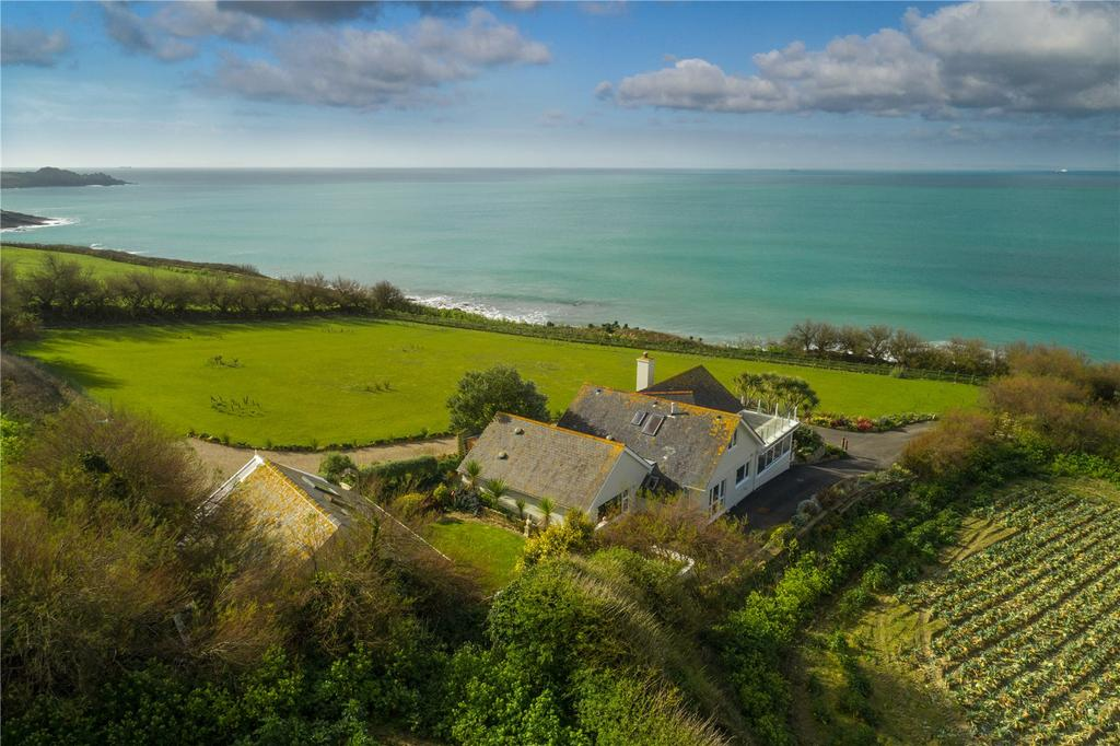 4 Bedrooms Detached House for sale in Perranuthnoe, Penzance, Cornwall, TR20