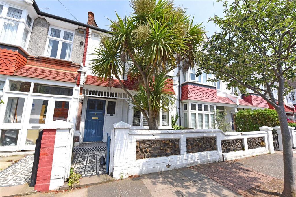 4 Bedrooms Terraced House for sale in Hambledon Road, Southfields, London, SW18