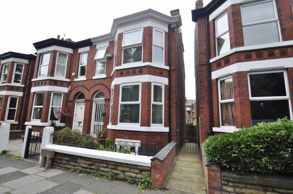 3 Bedrooms Semi Detached House for sale in Kennerley Road, Stockport