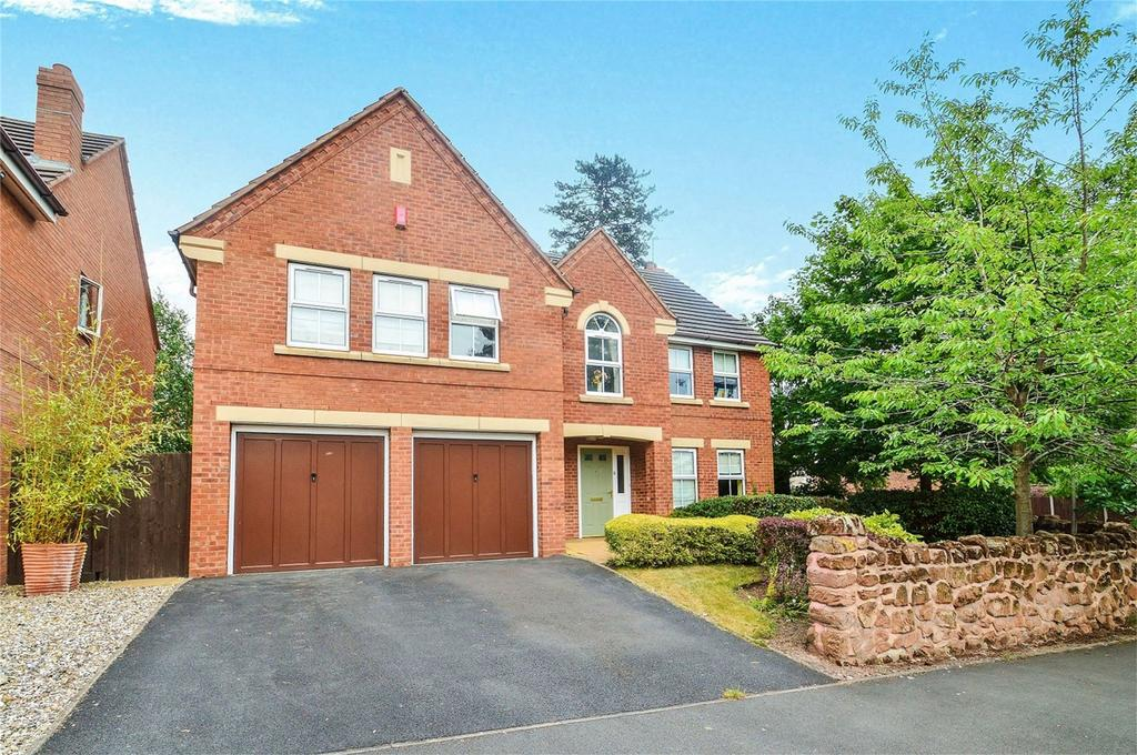 5 Bedrooms Detached House for sale in Threlfall Drive, Bewdley, Worcestershire