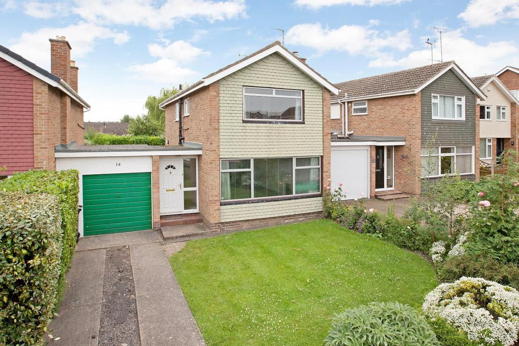 3 Bedrooms Link Detached House for sale in Aspin Way, Knaresborough