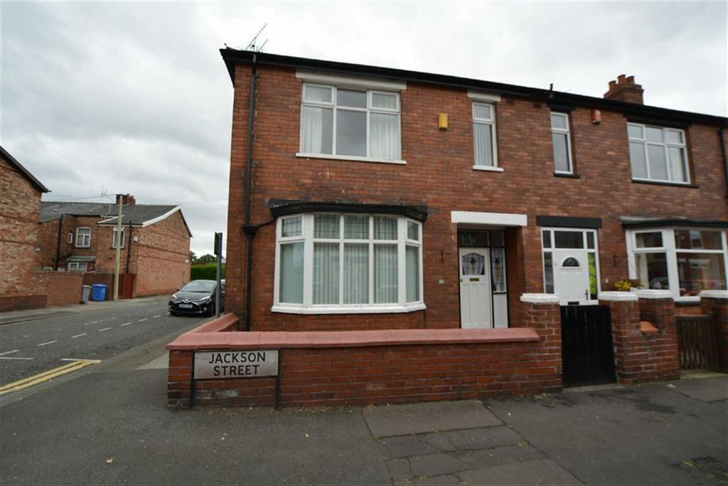 3 Bedrooms End Of Terrace House for sale in Jackson Street, STRETFORD