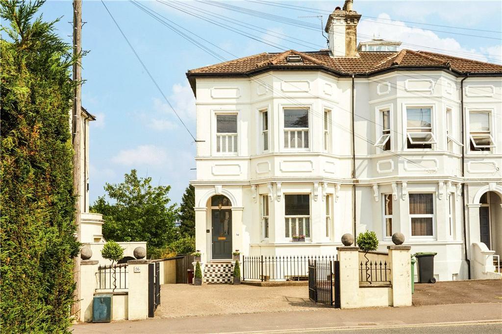 4 Bedrooms Semi Detached House for sale in Upper Grosvenor Road, Tunbridge Wells, Kent, TN1