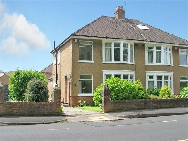 3 Bedrooms Semi Detached House for sale in King George V Drive West, Heath, Cardiff