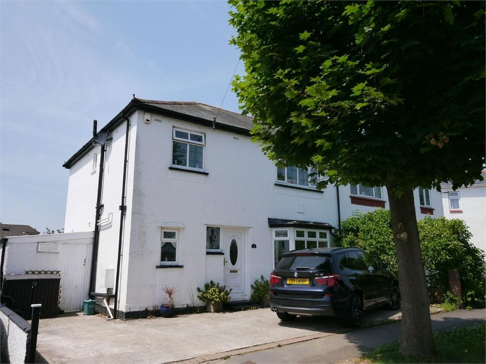 3 Bedrooms Semi Detached House for sale in Milton Road, Penarth