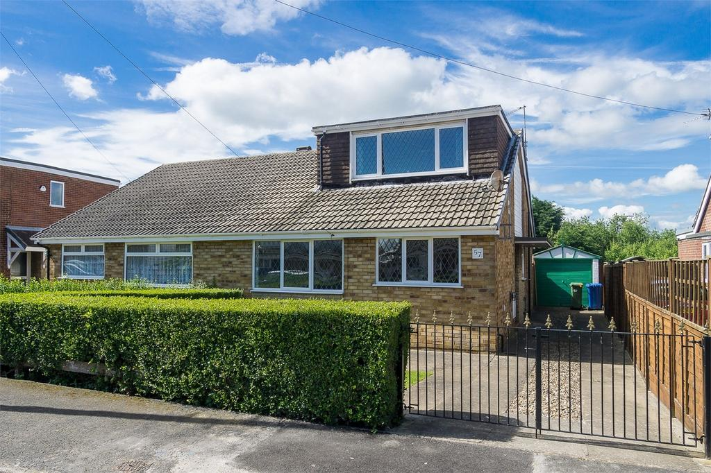 3 Bedrooms Semi Detached Bungalow for sale in Egroms Lane, WITHERNSEA, East Riding of Yorkshire