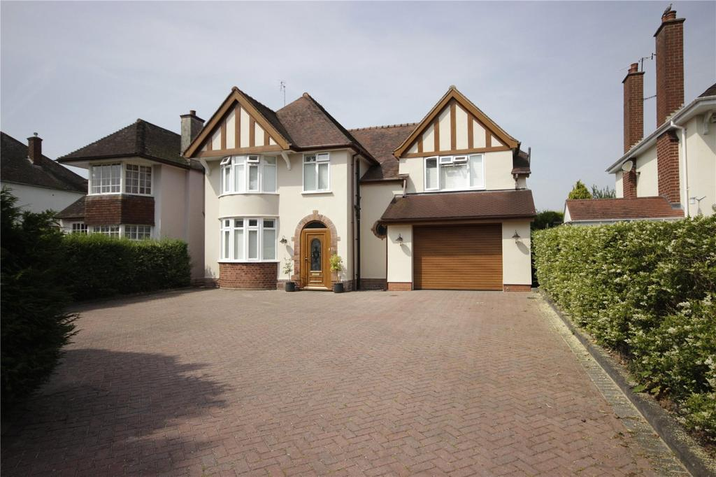4 Bedrooms Detached House for sale in Hanbury Park, Worcester