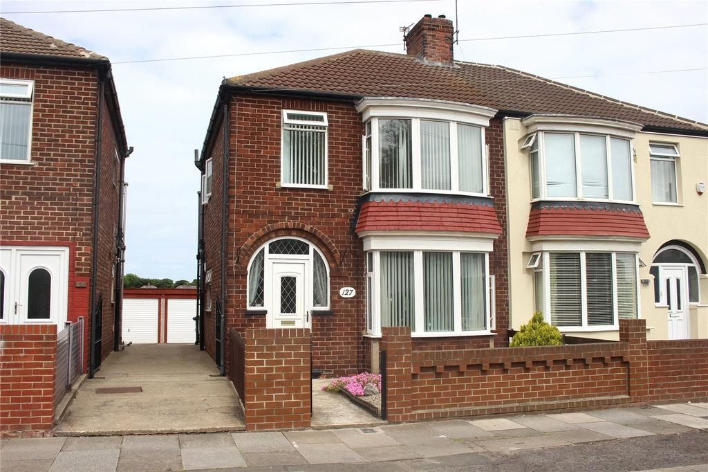 3 Bedrooms Semi Detached House for sale in Thames Road, Redcar