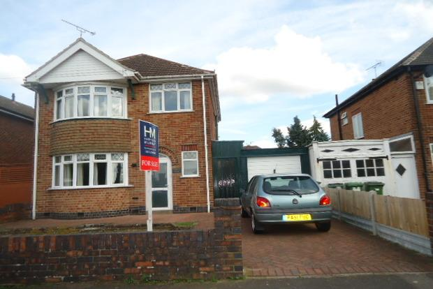 3 Bedrooms Detached House for sale in Kingsway North, Leicester, LE3