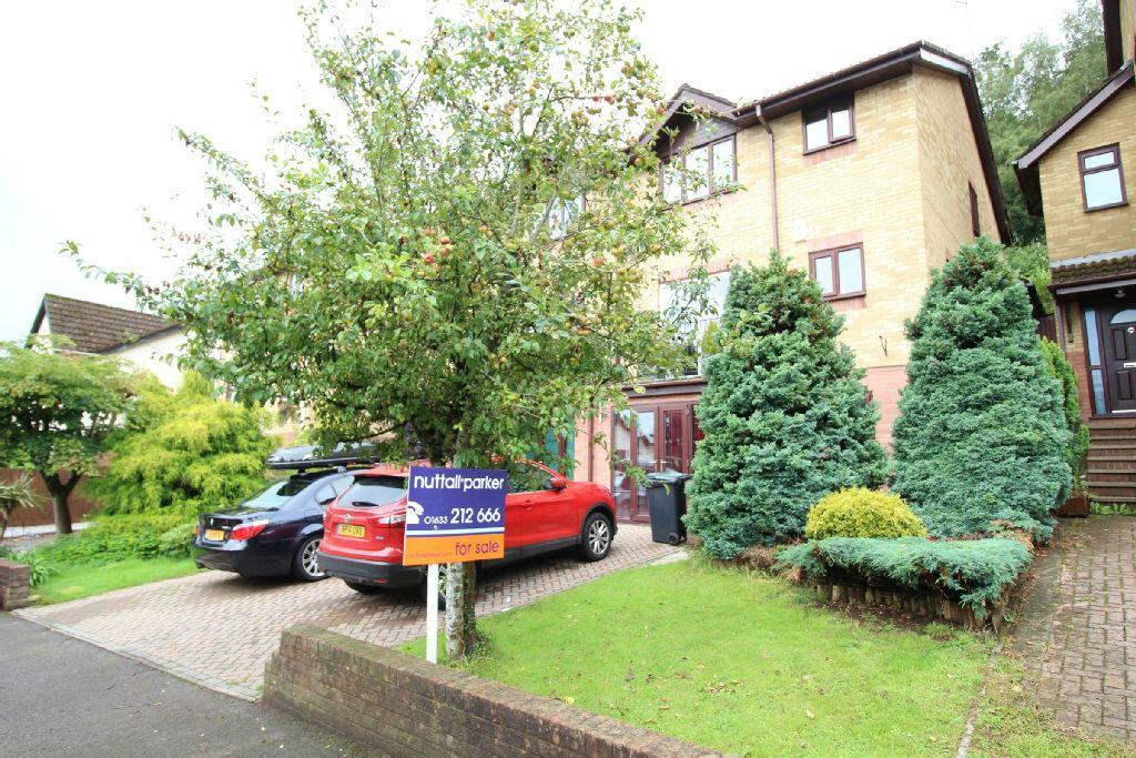 4 Bedrooms Semi Detached House for sale in Ffos-y-fran, Bassaleg, Newport